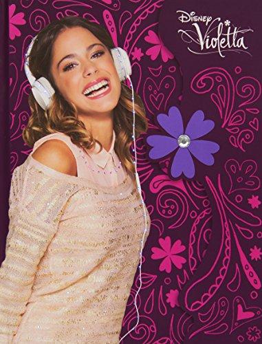 Giochi Preziosi 70871741 - Disney Violetta Tagebuch mit Licht, Papeterie Sticker (Walt Disney Schloss)