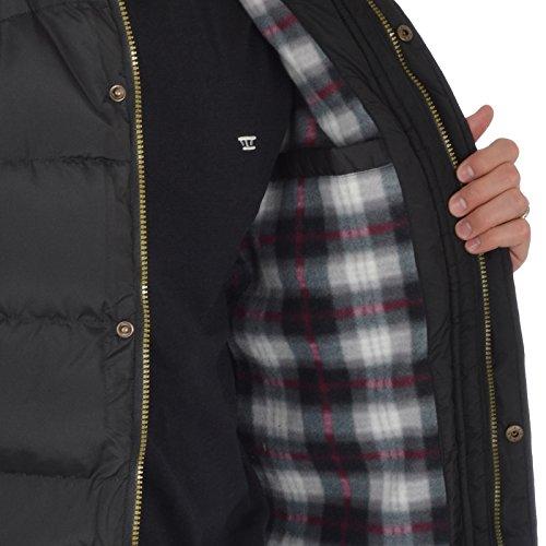 D555 - Manteau sans manche - Sans Manche - Homme Noir