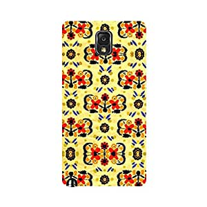 Skintice Designer Back Cover with direct 3D sublimation printing for Samsung Galaxy Note 3