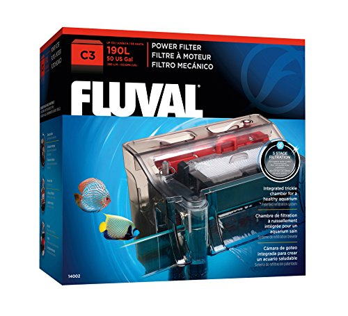 Fluval 14002 C3 Clip-On 5-Stufen Filter
