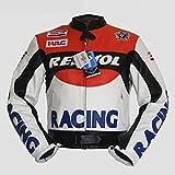 Biker Motorrad Jacke < 4LIMIT Sports > > HONDA REPSOL MotoGP Repsol Leder Jacke Motorrad Jacke