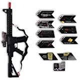 Nyrwana Toy Black M-6 Rifle Gun for kids