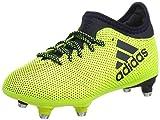 adidas X 17.3 SG, Botas de Fútbol Unisex Niños, Amarillo (Solar Yellow/Legend Ink/Legend Ink...