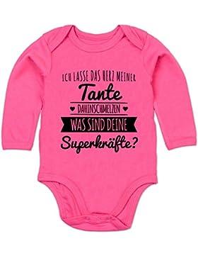Shirtracer Sprüche Baby - Tante Herz dahinschmelzen - Baby Body Langarm
