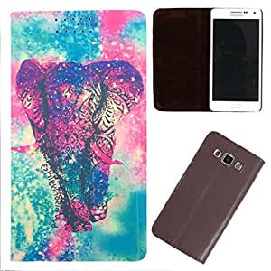DooDa - For Samsung Galaxy S Duos 2 PU Leather Designer Fashionable Fancy Flip Case Cover Pouch With Smooth Inner Velvet