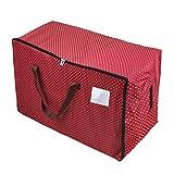 Übergroße 600D Oxford Aufbewahrungstasche Storage bag für saisonale Kleidung Tragetasche für sperriger Gegenstände Mit 200 Liter doppelt Reißverschlusstasche mit 100L Volumen