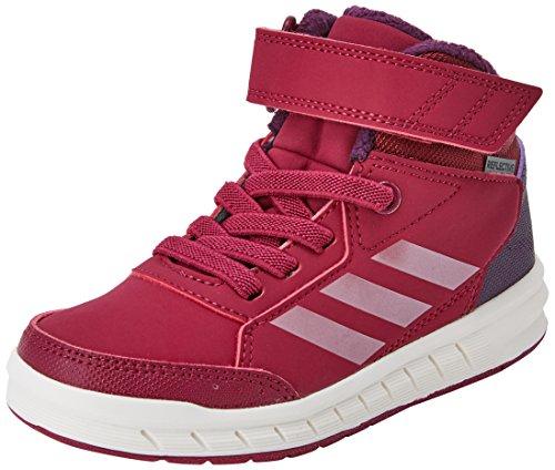 adidas Unisex-Kinder AltaSport Mid EL K Fitnessschuhe, Mehrfarbig (Rubmis/Rubmet/Rojnoc), 32 - Sneakers Mädchen Mid