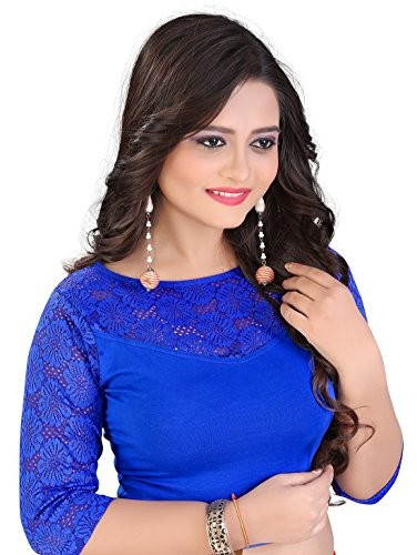 blouse readymade (71) (RoyalBlue)