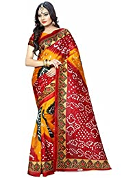 Kanha Fashion Cotton Silk Saree (Saree548_Multicolor)
