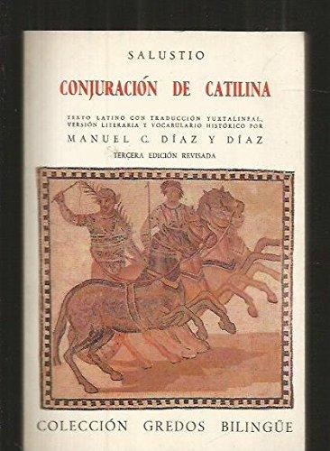 Conjuracion catilina (bilingue) (VARIOS GREDOS) por Salustio