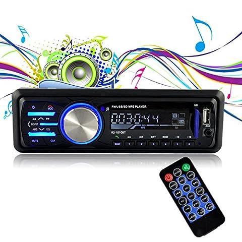 MATCC AutoRadio Radio de voiture Audio avec USB / SD