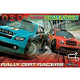 Micro Scalextric – G1096 – Rally Dirt Racers – Circuit Electrique 1:64 (Import Royaume-Uni – Prise UK)...