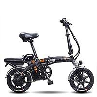 Jghjh Batería De Litio Eléctrica Plegable Ultra Ligera De La Aleación De Aluminio De La Bicicleta