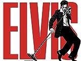 Elvis Presley Rock`n´Roll Fun Gris Hooded Zip à Capuche Sweat Zippé Sweat-Shirt À Capuche -9147