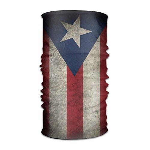 Jolly2T Puerto Rican Flag Grunge Multifunctional Magic Headwear 12-in-1 Men&Women Tube Scarf Facemask Headbands Neck Gaiter Bandana Balaclava Helmet for Outdoor Running Yoga Work Out - Cotton Candy Twist