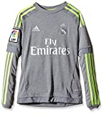 adidas Jungen Trikot Real Madrid Auswärts Replica, Grey/Solar Yellow, 152, S12620