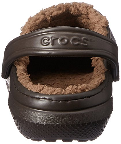 Crocs Unisex-erwachsene Classico Foderato Zoccoli Braun (espresso / Noce)