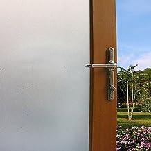 KINLO 90x200cm/Rollo PVC Autoadhesiva Pegatina Translúcida para Ventana Vinilo Pegatina Estática de Cristal de Ventanal de Oficina/Baño/Cocina/Dormitorio Resistente a Sol/UV