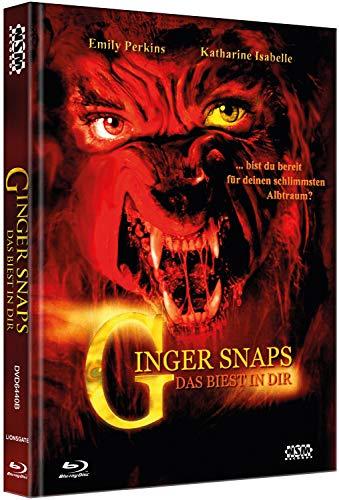 Ginger Snaps - Das Biest in dir - Limitiert auf 250 Stück - Mediabook Cover B (+DVD) [Blu-ray]