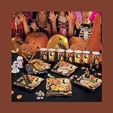 GIVI ITALIA S.R.L., 10 Platten SQUARE Fröhliches Halloween CM 19