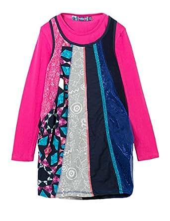 Desigual saint paul vestito bambina abbigliamento for Amazon abbigliamento bambina