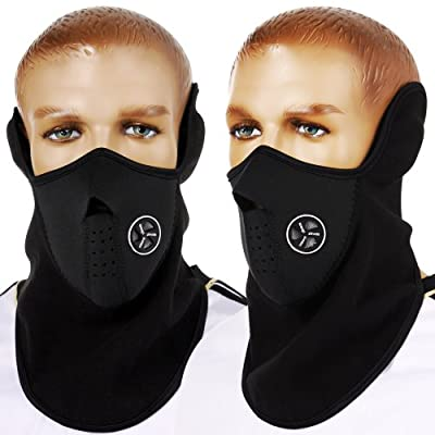 DSYJ Windproof Face Mask Cover Caps Winter Warm Face Cover Neck Warmer Ski Hat Winter Outdoor Ski Mask Headcover