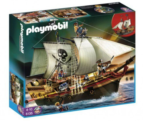 Playmobil - Barco pirata de ataque, set...