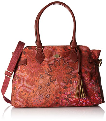 Oilily Damen Carry All Henkeltaschen, 46x17x33 cm Braun (CINNAMON 114)