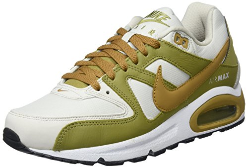 NIKE Herren Air Max Command Fitnessschuhe, Mehrfarbig (Light Bone/Muted Bronze/Camper Green 035), 44 EU