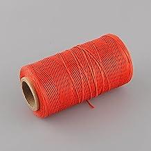 Kicode Multicolore per il vostro sceglie 260 Meter 1 millimetro 150D Filo Cavo della stringa della cinghia per mano fai da te prodotti in pelle di lavoro la casa e giardino il trasporto di goccia