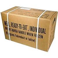 MREs (Meals Ready-to-Eat) Box B, Genuine U.S. Military Surplus, Menus 13-24 by U.S. Military Contractors