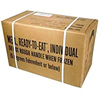 MREs (Meals Ready-to-Eat) Box B, Genuine U.S. Military Surplus, Menus 13-24 by U.S. Military Contractors 2