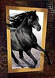 Heidi Oyuncak 4376Black Horse Kunst Puzzle