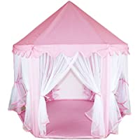 MultiWare Deluxe Kids Princess Castle Play House, Great Gift for Girls Boys Hexagon Play Tent
