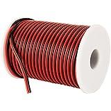 C-able 31m 30,5m 18AWG Jauge Fil électrique Hookup Rouge Noir Cuivre Stranded Auto 2fils basse tension 12V DC câble pour Unique Couleur LED strip câble d'extension Cordon Bobine