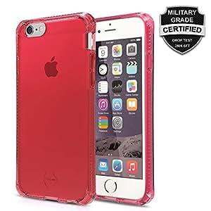 Itskins Spectrum Contour Renforce Coque pour iPhone 6S Plus Rouge