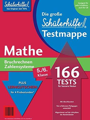 Testmappe Mathe Bruchrechnen/Zahlensysteme (Kl. 5.-6.)