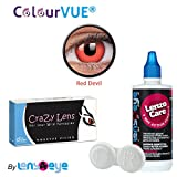 ColourVUE Crazy Lens Red Devil Color Zer...