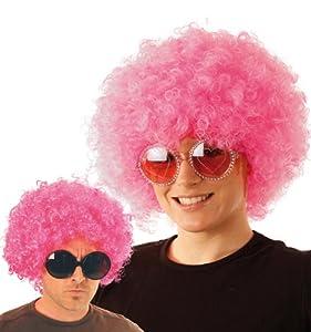 Party Pro 865510 - Peluca unisex para adultos, color rosa, talla única