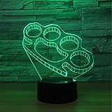 Led Night Light Auto-Défense Fermoirs Acrylique Lampe Créative Lampe De Chevet Lumière Usb, Lampe Créative Moderne Usb