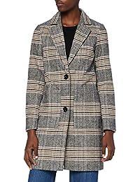 TOM TAILOR Denim Check Blazer Mantel Chaqueta para Mujer