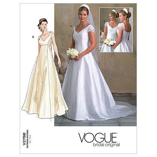Vogue V2788 VGE (18-20-22) Schnittmuster zum Nähen, Elegant, Extravagant, Modisch