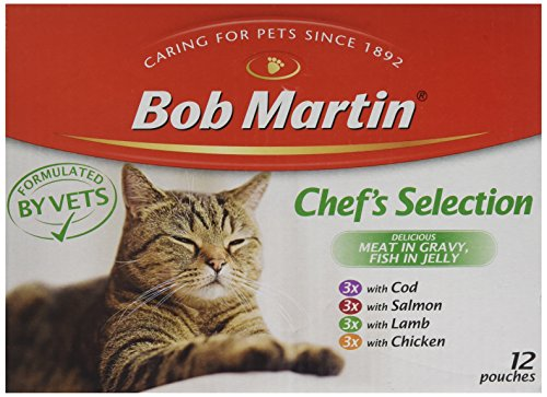 Bob Martin Cat Food Fish & Meat Mix, 12 x 85g 2