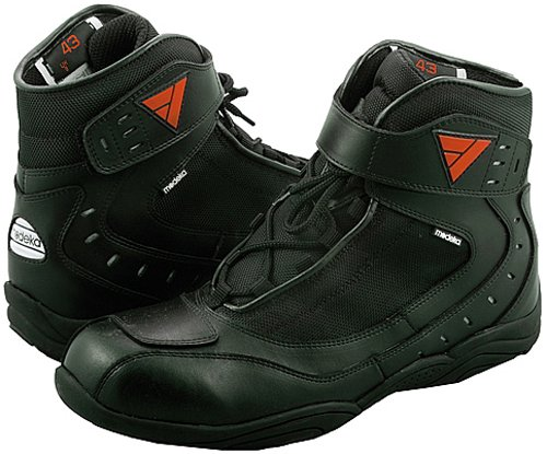 *Modeka LE MANS Motorradstiefel Leder – schwarz Größe 46*