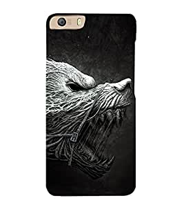 Cruel Animal Design 3D Hard Polycarbonate Designer Back Case Cover for Micromax Canvas Knight 2 E471