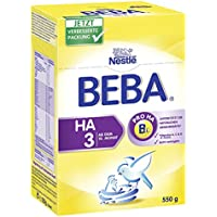 Beba HA 3, Hypoallergene Folgenahrung - ab dem 10. Monat, 5er Pack (5 x 550g)