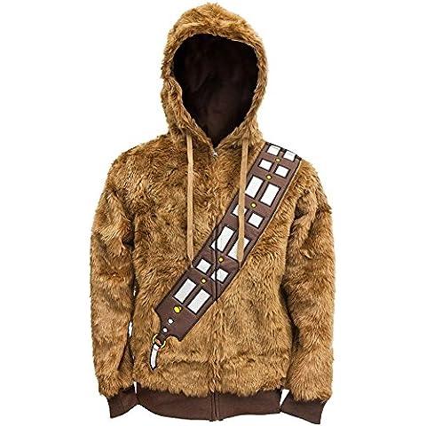 Skinkin-Custodia, motivo: Star Wars, I Am Chewie Juvy-Felpa con cappuccio e Zip