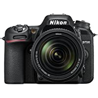 Nikon D7500 Camera Body with 18-140 mm VR Digital DSLR Kit - Black