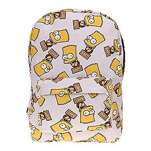 51aCp3%2BYntL. SS300  - BHCW Mochilas Escolares,Mochila Juveniles Resistente al Agua Mochila Ligera y Moderna Estilo clásico Mochila versátil para Bolso Hombro Ergonómico Mochila Infantil The Simpsons