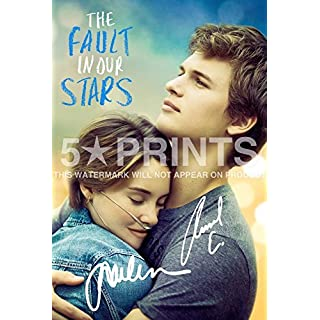The Fault In Our Stars Poster Photo 12x8